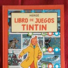 Cómics: LIBRO DE JUEGOS DE TINTÍN.. Lote 74221675