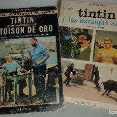 Cómics: COLECCION TINTÍN CINE, EL MISTERIO DEL TOISÓN DE ORO Y TINTÍN Y LAS NARANJAS AZULES.. Lote 74945631