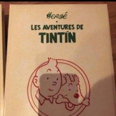 Cómics: LES AVENTURES DE TINTIN INTEGRAL COMPLETA CATALÀ - 6 VOLUMS.- GUAFLEX - AVENTURAS. Lote 74987011