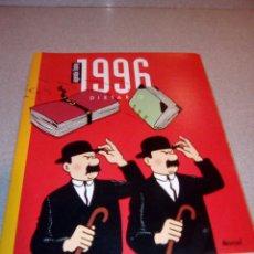 Cómics: DIETARIO AGENDA TINTIN 1996 NORMA EDITORIAL SIN ESCRIBIR. Lote 75037975