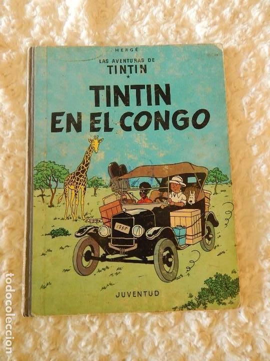 LAS AVENTURAS DE TINTIN - TINTIN EN EL CONGO - 2. EDICION (Tebeos y Comics - Juventud - Tintín)