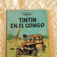Cómics: LAS AVENTURAS DE TINTIN - TINTIN EN EL CONGO - 2. EDICION. Lote 75893543