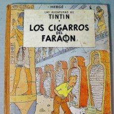 Comics - LOS CIGARROS DEL FARAÓN. LAS AVENTURAS DE TINTIN. ED. JUVENTUD. 1ª EDICIÓN 1964. - 75972323