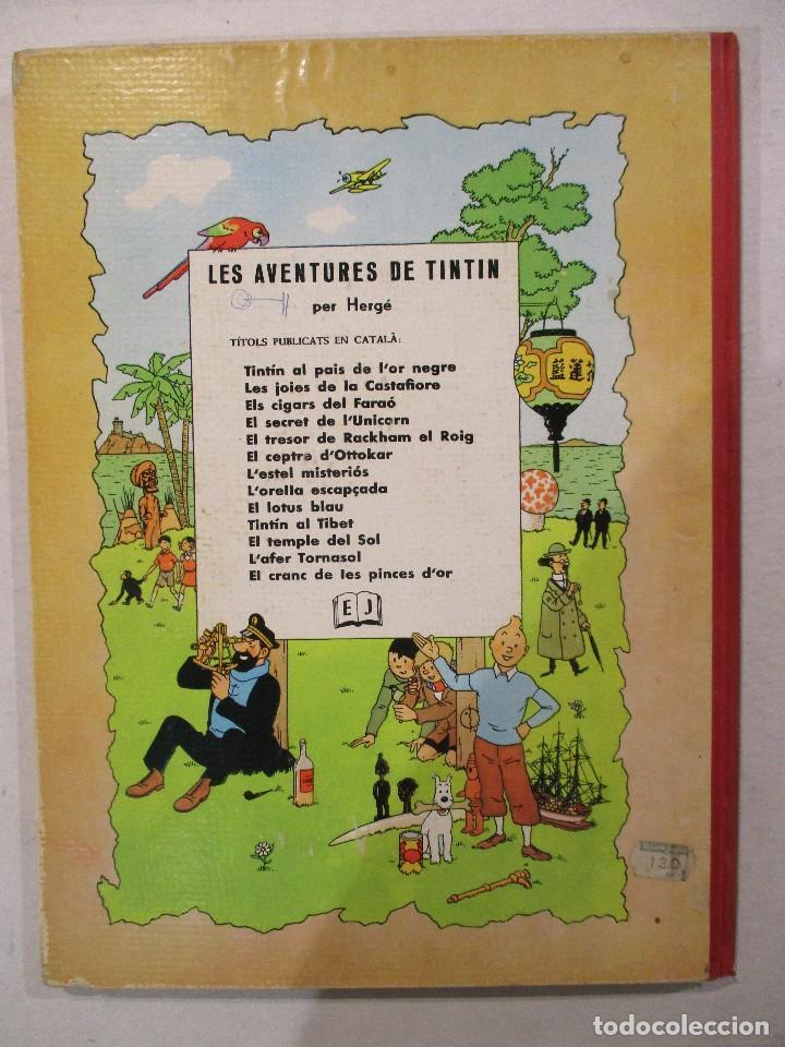 Cómics: L´ESTEL MISTERIOS - TINTIN - EN CATALÀ - SEGONA EDICIO - ANY 1970-ED.JUVENTUD - Foto 2 - 76525267