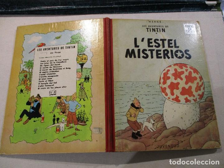 Cómics: L´ESTEL MISTERIOS - TINTIN - EN CATALÀ - SEGONA EDICIO - ANY 1970-ED.JUVENTUD - Foto 3 - 76525267