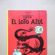 Cómics: TINTIN EL LOTO AZUL / JUVENTUD 1989. Lote 76556375