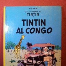 Cómics: TINTIN - TINTIN AL CONGO- JOVENTUD 1983 - TAPA DURA - EN CATALÀ 4º EDICIÓ~REF-1AC. Lote 76575191