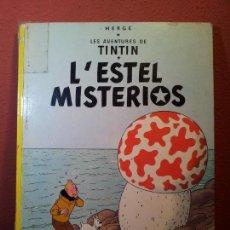 Cómics: TINTIN - L´ESTEL MISTERIOS - JOVENTUD 1982 - TAPA DURA - EN CATALÀ 6º EDICIÓ~REF-1AC. Lote 76575475