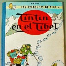 Cómics: TINTIN EN EL TIBET. EDICIÓN 1965. MUY BUEN ESTADO DE CONSERVACIÓN.. Lote 77578801