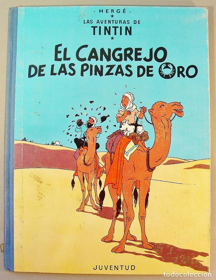 TINTIN. EL CANGREJO DE LAS PINZAS DE ORO. SEGUNDA EDICIÓN. 1966. BUEN ESTADO DE CONSERVACIÓN. (Tebeos y Comics - Juventud - Tintín)