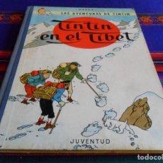 Cómics: TINTÍN EN EL TÍBET 2ª SEGUNDA EDICIÓN. JUVENTUD 1965. BUEN ESTADO GENERAL.. Lote 77729073