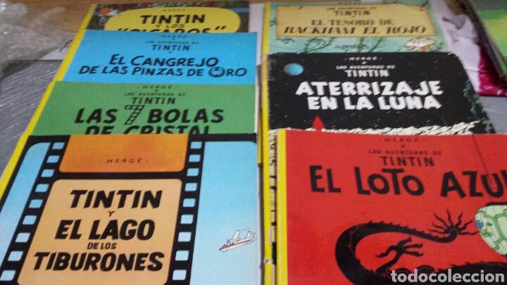LOTE DE COMICS 7 NÚMEROS DISTINTOS DE TINTIN AÑOS 80 (Tebeos y Comics - Juventud - Tintín)