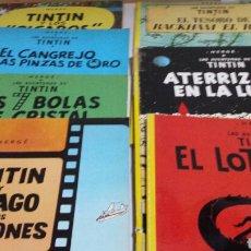 Cómics: LOTE DE COMICS 7 NÚMEROS DISTINTOS DE TINTIN AÑOS 80. Lote 77913429