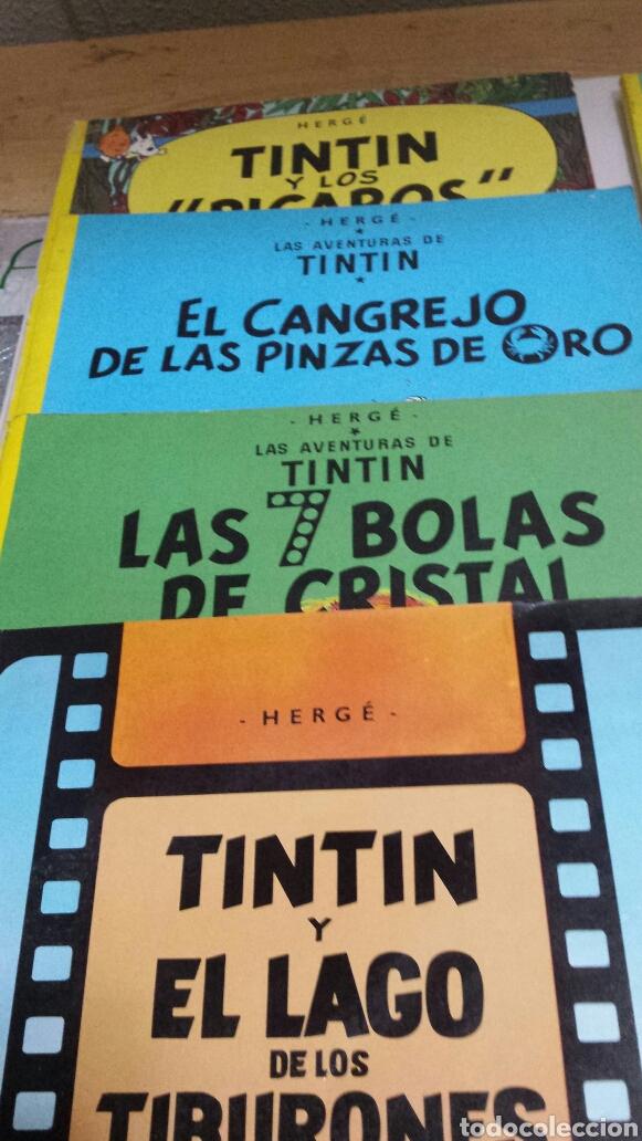 Cómics: Lote de comics 7 números distintos de Tintin años 80 - Foto 2 - 77913429