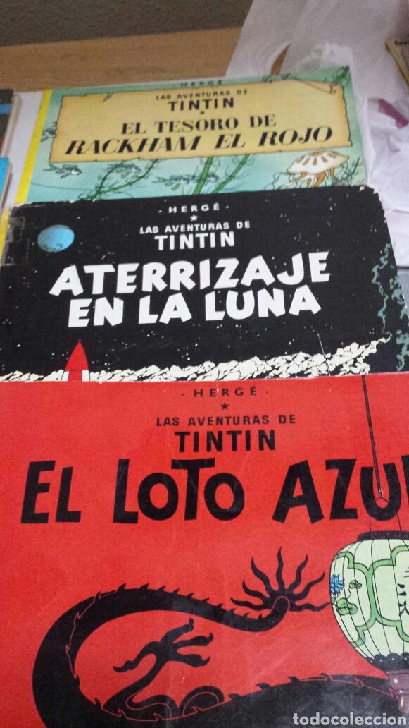 Cómics: Lote de comics 7 números distintos de Tintin años 80 - Foto 3 - 77913429