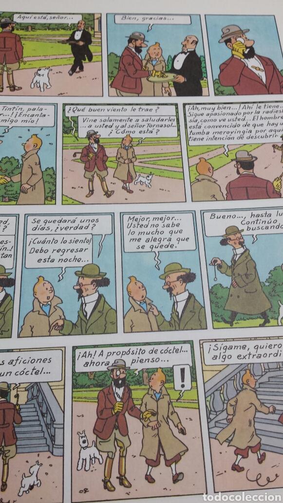 Cómics: Lote de comics 7 números distintos de Tintin años 80 - Foto 5 - 77913429