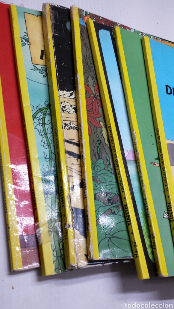 Cómics: Lote de comics 7 números distintos de Tintin años 80 - Foto 6 - 77913429