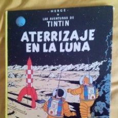 Cómics: COMIC LAS AVENTURAS DE TINTIN - ATERRIZAJE EN LA LUNA - JUVENTUD. Lote 77936505