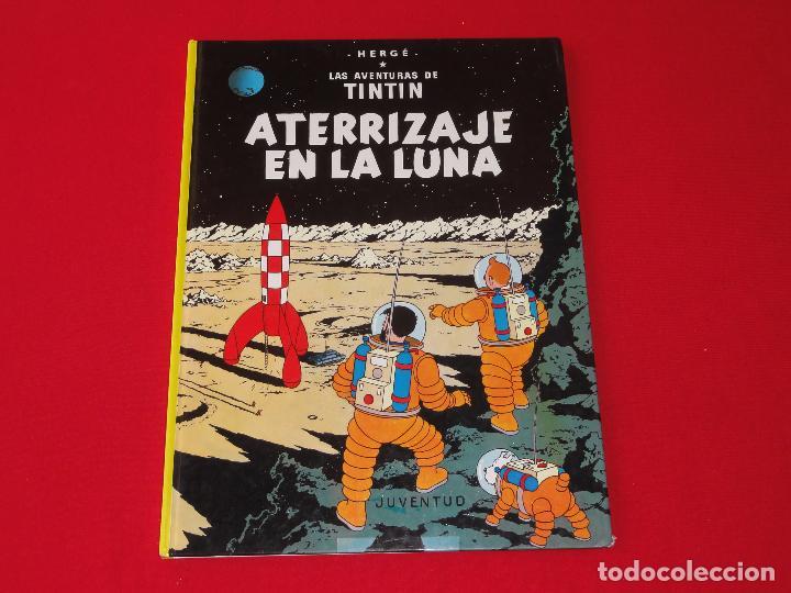 TINTIN. ATERRIZAJE EN LA LUNA . TAPA DURA. C-17 (Tebeos y Comics - Juventud - Tintín)