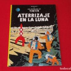 Cómics: TINTIN. ATERRIZAJE EN LA LUNA . TAPA DURA. C-17. Lote 78349157