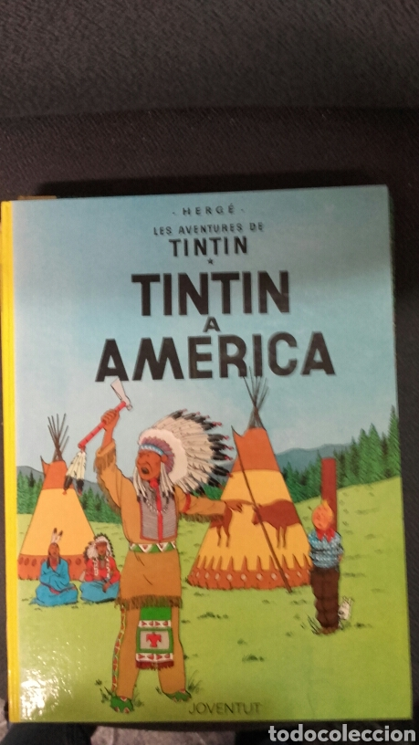 COMIC TINTIN A AMERICA (Tebeos y Comics - Juventud - Tintín)