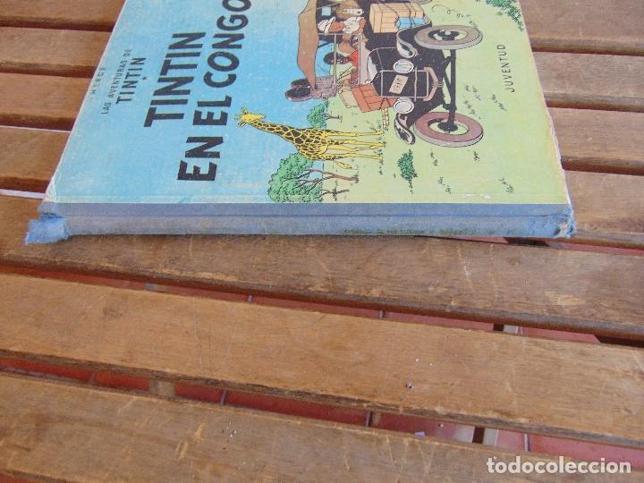 Cómics: LAS AVENTURAS DE TINTIN JUVENTUD SEGUNDA EDICION 1970 TINTIN EN EL CONGO - Foto 19 - 43883169