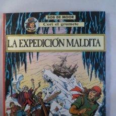 Comics : COMIC. BOB DE MOOR. CORI EL GRUMETE. LA EXPEDICIÓN MALDITA. JUVENTUD. Lote 79153053