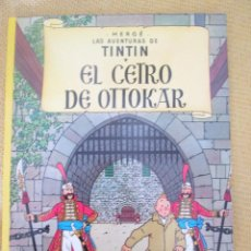 Cómics: EL CETRO DE OTTOKAR TINTIN HERGE EDITORIAL JUVENTUD 2003 TAPA BLANDA. Lote 79609549