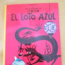 Cómics: TINTIN EL LOTO AZUL TINTIN HERGE EDITORIAL JUVENTUD 2003 TAPA BLANDA. Lote 79613325