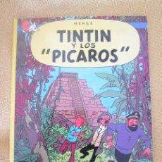 Cómics: TINTIN Y LOS PICAROS TINTIN HERGE EDITORIAL JUVENTUD 2003 TAPA BLANDA. Lote 79614085
