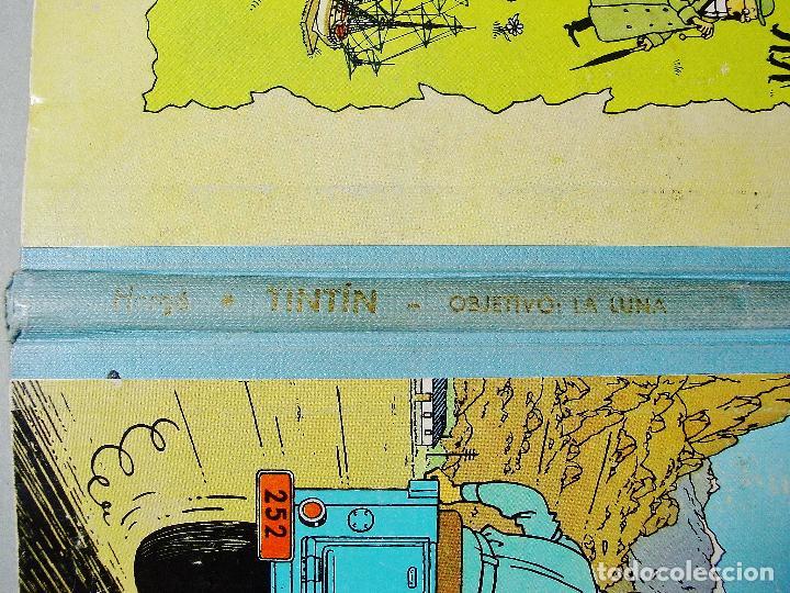 Cómics: TINTIN. OBJETIVO: LA LUNA. EDICIÓN 1965. MUY BUEN ESTADO DE CONSERVACIÓN - Foto 4 - 77578193