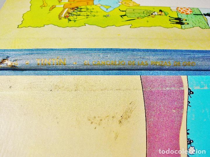 Cómics: TINTIN. EL CANGREJO DE LAS PINZAS DE ORO. SEGUNDA EDICIÓN. 1966. BUEN ESTADO DE CONSERVACIÓN. - Foto 5 - 77588765