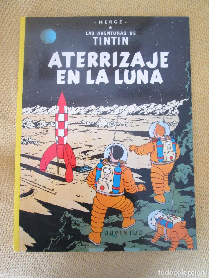 TINTIN ATERRIZAJE EN LA LUNA TINTIN HERGE EDITORIAL JUVENTUD 2003 TAPA BLANDA (Tebeos y Comics - Juventud - Tintín)