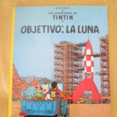 Comics - TINTIN OBJETIVO: LA LUNA TINTIN HERGE EDITORIAL JUVENTUD 2003 TAPA BLANDA - 79624961