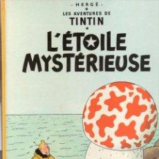 Cómics: TINTIN: L'ETOILE MYSTERIEUSE/CASTERMAN (FRANCES) 1966. Lote 79787069
