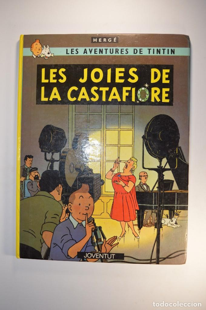 CÓMIC ANTIGUO HERGÉ LES AVENTURES DE TINTIN LES JOIES DE LA CASTAFIORE JOVENTUD CATALÀ CATALÁN (Tebeos y Comics - Juventud - Tintín)