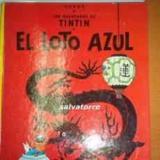 Cómics: HERGE.LAS AVENTURAS DE TINTIN.EL LOTO AZUL.1984.EDITORIAL JUVENTUD. Lote 81047604