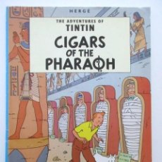 Cómics: TINTIN, CIGARS OF THE PHARAON, HERGE, EDICIONES DEL PRADO, HERGÉ. Lote 81572180