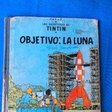 Cómics: TINTIN OBJETIVO: LA LUNA, EDICIÓN 1965. Lote 81739064