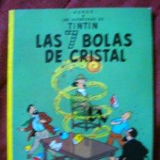 Cómics: TINTÍN HERGÈ JUVENTUD LAS 7 BOLAS DE CRISTAL 1985 NUEVO RÚSTICA. Lote 82085884