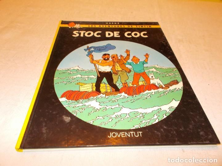 TINTIN STOC DE COC (Tebeos y Comics - Juventud - Tintín)