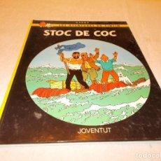 Cómics: TINTIN STOC DE COC. Lote 82584040