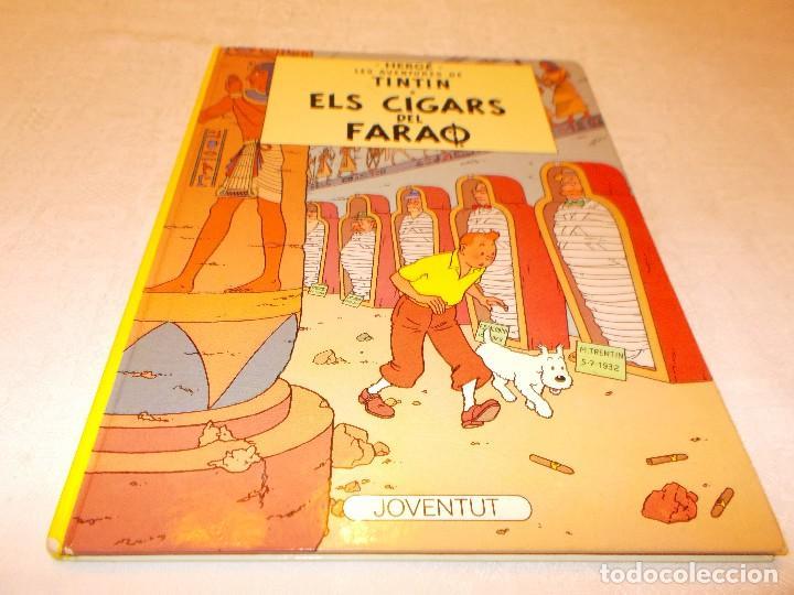 TINTIN ELS CIGARS DEL FARAÒ (Tebeos y Comics - Juventud - Tintín)