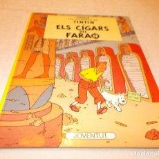 Cómics: TINTIN ELS CIGARS DEL FARAÒ. Lote 82648292