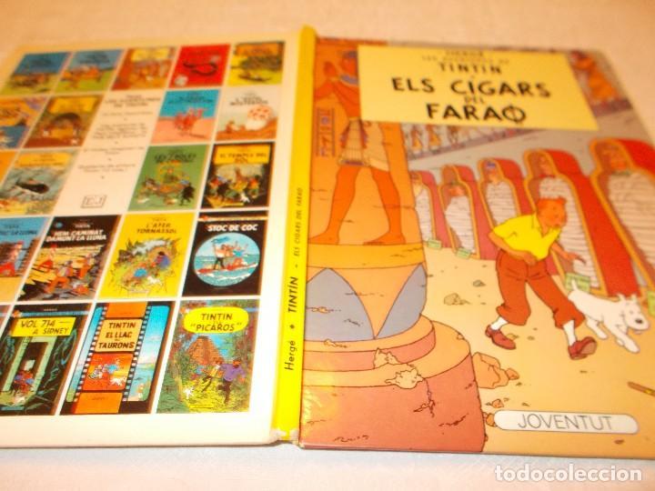 Cómics: TINTIN Els cigars del faraò - Foto 2 - 82648292