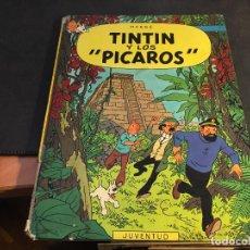 Cómics: TINTIN Y LOS PICAROS. TAPA DURA PRIMERA EDICION 1976 (C4). Lote 83420832