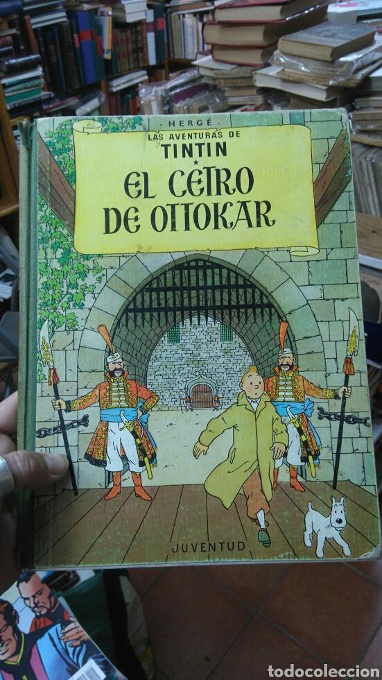 TINTIN. EL CETRO DE OTTOKAR. 4.-EDICIÓN (Tebeos y Comics - Juventud - Tintín)