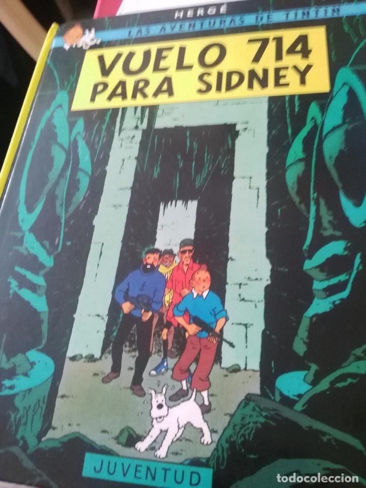 LAS AVENTURAS DE TINTIN VUELO 714 (Tebeos y Comics - Juventud - Tintín)