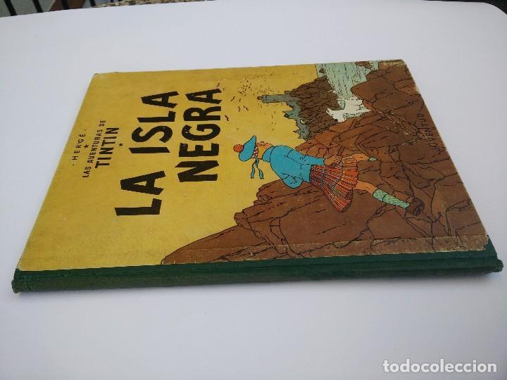 Cómics: TINTIN LA ISLA NEGRA. 1ª EDICIÓN. PRIMERA EDICIÓN EN CASTELLANO - Foto 2 - 83850020