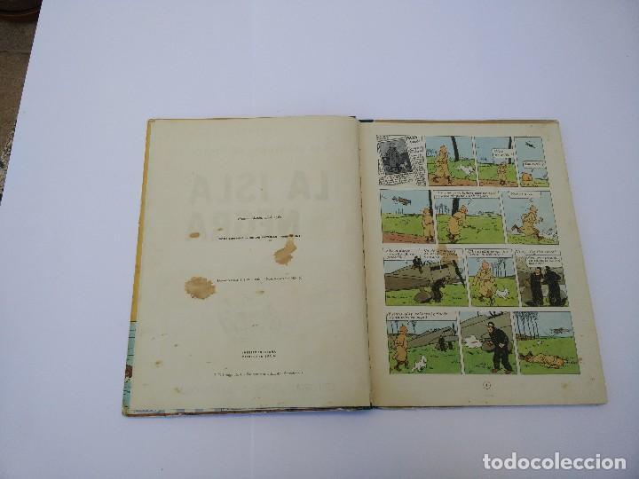 Cómics: TINTIN LA ISLA NEGRA. 1ª EDICIÓN. PRIMERA EDICIÓN EN CASTELLANO - Foto 5 - 83850020